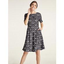 b1f13dd25 heine TIMELESS krajkové šaty s kapsami přírodní bílá černá