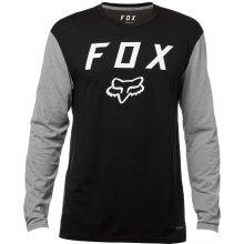 Fox Contended LS Tech Tee Black