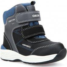 4f77c5d1bb4 Geox Chlapecké zimní boty New Gulp šedo-černé