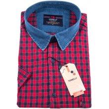 6765791df77b Červenomodrá nadměrná košile Tonelli 110845