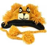 Sanu Babu Čepice s ušima dětská lev světle hnědá 77c7fb7d85