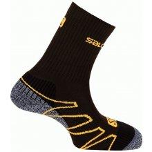 Salomon ponožky Eskape swamp/dark titanium/orange