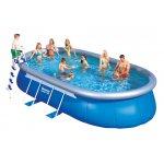 Bestway oválný rodinný bazén 549x366x122