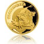 Česká mincovna Zlatá mince Pohádky z mechu a kapradí Vochomůrka proof 3,11 g