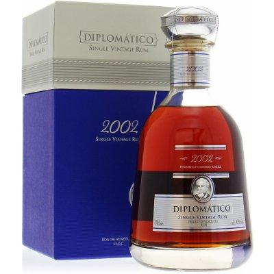 Diplomático Single Vintage 2002 43% 0,7 l (kazeta)