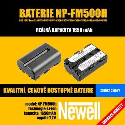 Newell NP-FM500h baterie - neoriginální