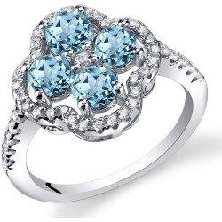 4c534a7f0 Eppi Stříbrný prsten s topazy a zirkony Sallen R32641 alternativy ...