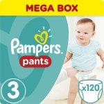 Pampers Active Pants 3 Midi Mega Box 6-11 kg 120 ks