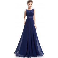 Ever Pretty plesové šaty společenské 8741 modrá fed12064ab