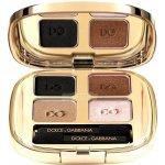 Dolce & Gabbana The Eye shadow Smooth Eye Colour Quad 4 oční stíny 123 Desert 4,8 g