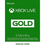 Microsoft Xbox Live Gold členství 6 měsíců