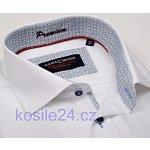 Casa Moda Comfort Fit Premium Luxusní Bílá košile se strukturou a světle  modrým vnitřním límcem 73a866886e