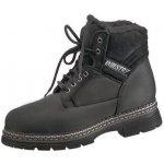 Pracovní kožené kotníkové boty CXS Industry, černé