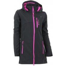 Alpine pro Dámský softshellový kabát Bimisa černá