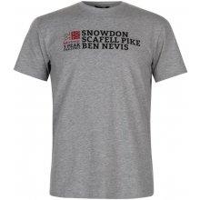 Karrimor Organic T Shirt Mens Grey Marl
