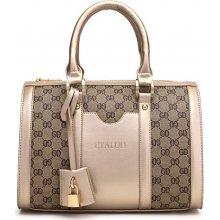 elegantní kabelka ETALOO zlatá