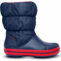 Dětská bota Crocs Winter Puff Boot Kids Navy Red a1f64c053c