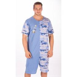 dd83b704d925 Pánské pyžamo Pivo nejlepší přítel pánský overal krátký hnědý