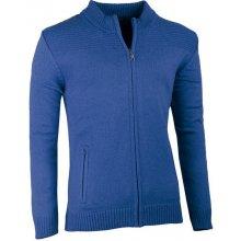 Assante pánský svetr na zip 51011 modrá
