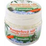 Bione koupelová sůl s minerály Mrtvého moře Bio Cannabis 200 g