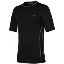 Lacoste T Shirt Embossed Stretch Jersey black