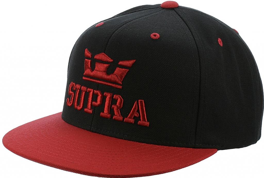 Supra Above Black Red Snapback černá   červená   černá od 552 Kč -  Heureka.cz 4d3c60efff