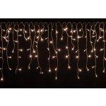 Vánoční světelný déšť 200 LED teple bílá - 5 m M02052