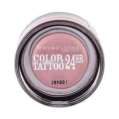 Maybelline Color Tattoo 24H krémové oční stíny 65 Pink Gold 4 g