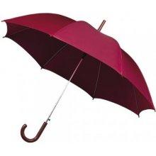Dámský holový deštník STANDARD vínový