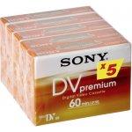 Sony Mini DV M60 PR Premium, 5ks (5DVM60PR)