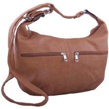 Sun-bags dámská kabelka s kapsičkami tmavě hnědá