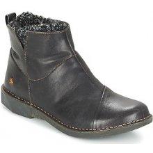 Art Kotníkové boty BERGEN Černá