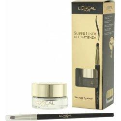 Oko LÓréal Paris Super Liner 24h Gel Eyeliner gelové oční linky 1 Pure Black 2,8 g