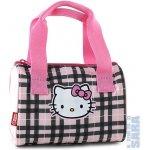 New Wave kabelka Hello Kitty 053612 růžovo černé kostky