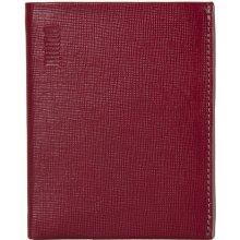 Mano pánská červená kožená peněženka 20200