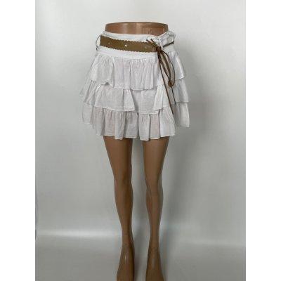 Forever Trendy dámská sukně bílé