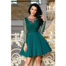 da69da8a124 Dámské společenské krátké šaty Tarja zelená