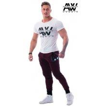 Nebbia Pánské tričko s krátkým rukávem AW 112 krémové