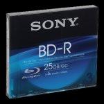 Sony BD-R 25GB 6x, slimbox, 3ks (3BNR25SL)