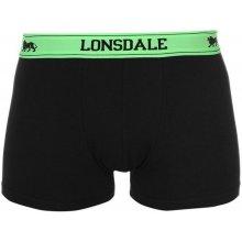 Lonsdale Pánské boxerky BLACK f917c88de4