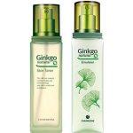 CHARMZONE Ginkgo Natural Zjemňující tonizační voda 130 ml + Zpevňující pleťová emulze 150 ml dárková sada