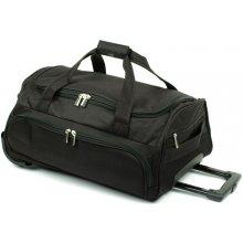 David Jones B999 taška na kolečkách 52x33,5x23, Černá