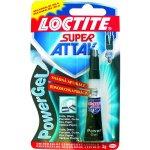 Lepidlo sekundové LOCTITE Super Attak Gel 3g