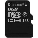 Kingston microSDHC 8GB UHS-I U1 SDC10G2/8GBSP