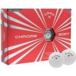 Callaway Chrome Soft 12 Pack Golf Balls White