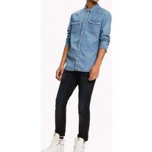 e0eb0d8be128 Tommy Hilfiger pánská džínová košile Basic