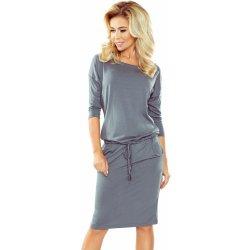 1b4592047c4 Dámské šaty Numoco sportovní šaty 13-75 tmavě šedá