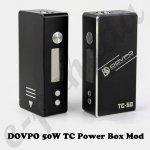 DOVPO 50W TC Power Box Mod 0mAh sada 1ks černý