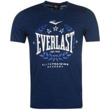 Everlast Logo T Shirt Mens Navy Laurel