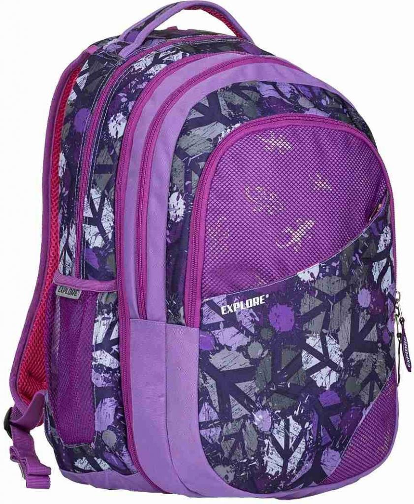 4f75a117774 Specifikace Explore Batoh 2v1 Daniel Peace purple - Heureka.cz